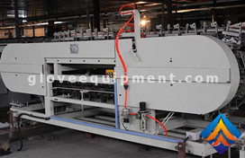 Gloves stripping machine to meet production needs