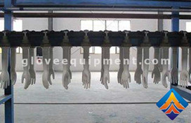 Characteristics of household gloves production line