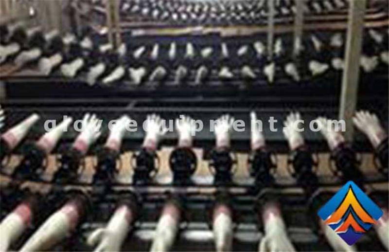 PVC gloves production line equipment process