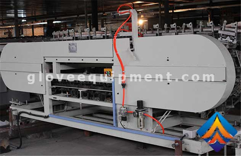 Automatic Stripping of Gloves in a High Volume Production Environment