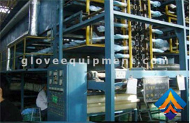 Latex gloves production process
